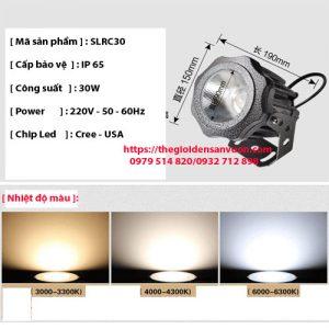 Đèn rọi cột cao áp SLRC30