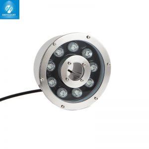 đèn âm nước bánh xe