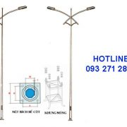 Cột đèn cao áp TK05
