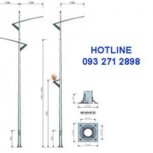 Cột đèn cao áp TK09