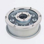 Đèn âm nước dạng bánh xe