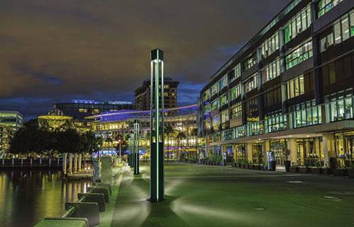 Cột đèn sân vườn central
