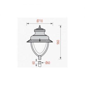đèn sân vườn Sepat