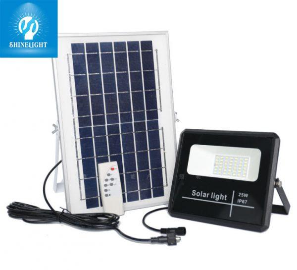 Đèn pha năng lượng mặt trời 25W SL01