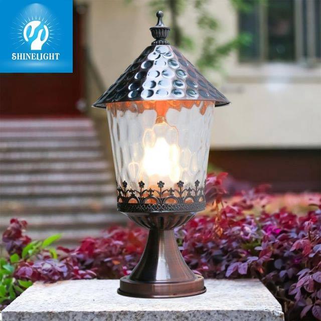 Đèn sân vườn nấm là một trong những loại đèn được yêu thích hiện nay