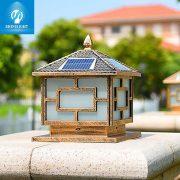Đèn trụ cổng năng lượng mặt trời SLDTC02