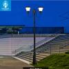 Đèn nấm sân vườn năng lượng mặt trời SLGL4006-two heads