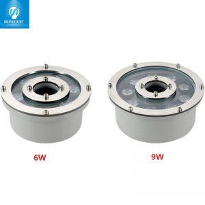 đèn âm nước bánh xe 6w